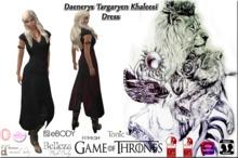 *CL*HUD*WEAR & UNPACK* Daenerys Targaryen Khaleesi Black V2