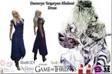 *CL*HUD*WEAR & UNPACK* Daenerys Targaryen Khaleesi Blue V2
