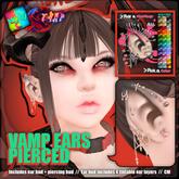 [][]Trap[][]/ [NI.JU] Vamp Ears Pierced