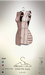 [sYs] SYMETRA dress (body mesh) - brown & nude HUD