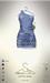 [sYs] LOTUS dress (body mesh) - blue