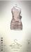 [sYs] LOTUS dress (body mesh) - nude