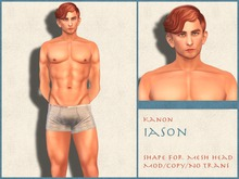 Kanon Male Shape - Iason - For LeLutka Andrea