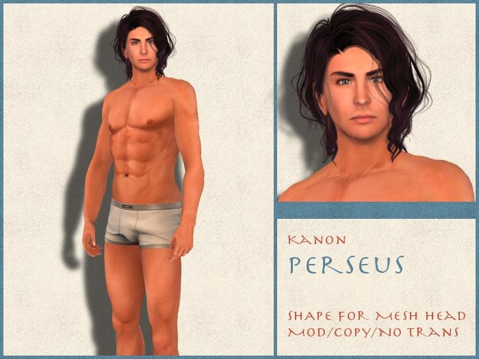 Kanon Male Shape - Perseus DEMO - For LOGO Logan