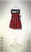 [sYs] KLIO dress (body mesh) - black/red