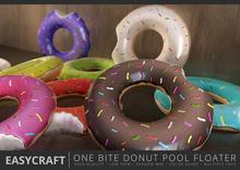EASYCRAFT - Full Perm (PRIME) One Bite Donut Floater Set B