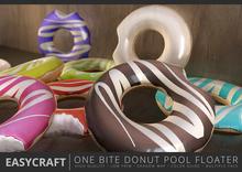 EASYCRAFT - (PRIME) One Bite Donut Floater Set D
