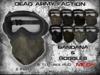 [Dead Army Faction] Bandana & Goggles - Mesh
