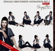 SEmotion Female GoundSits Set 2 - 10 HQ BENTO Animations BUILDER's KIT / Full permission