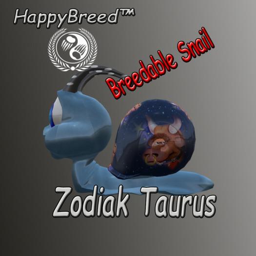 SellBox - Breedable Snail - Zodiak Taurus  2018