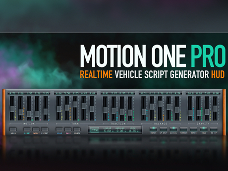 [ Motion One PRO ] Vehicle Script Generator