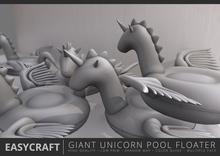 EASYCRAFT - Giant Unicorn Floater