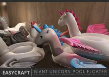 EASYCRAFT - (PRIME) Giant Unicorn Floater