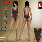 Miss S. Onepiece Dance Fishnet mesh