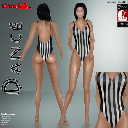 Miss S. Onepiece Dance Referee mesh