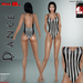 Miss s. dance onepiece referee mesh