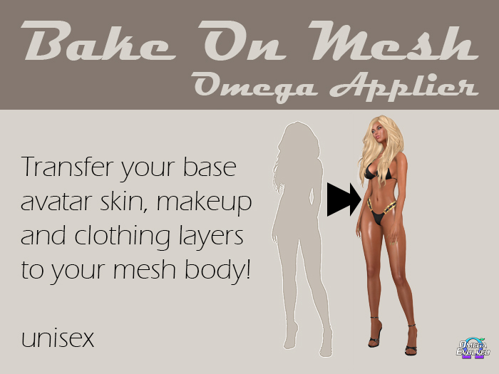 Bake on Mesh skin applier (Omega)