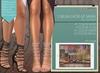 "Addams ""Chelsea"" Laced Up Sandals -Maitreya, Belleza, Slink #FATPACK"