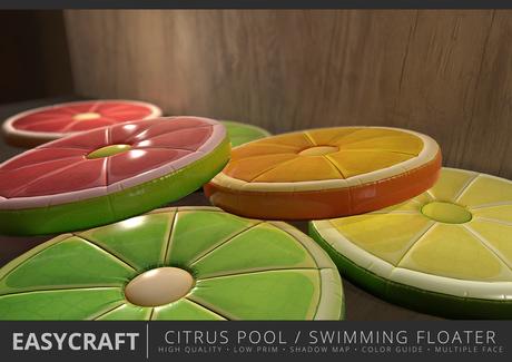 EASYCRAFT - Full Perm (PRIME) Citrus Floater