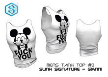 SIGNATURE Gianni Tank Top #3 - Mesh Men's Tank