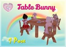 {D:D} Table Bunny kids