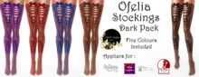 Continuum Ofelia stockings Dark