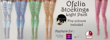 Continuum Ofelia stockings Light