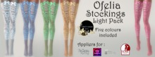 Continuum Ofelia stockings Light