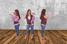 Dummy 23 - Mom and baby girl /2LI