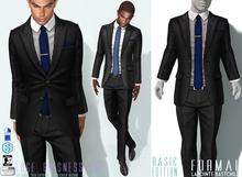 L&B - Suit - Edge - Black