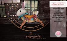 Babygirl&Daddytoo!Rocking Bunny Adult-Daddy's Teal