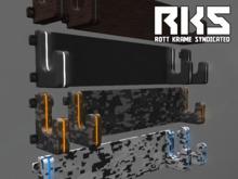 Sci-Fi Weapon Rack and Hooks [ RKS ]