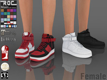 ::ROC:: Air Force Sneaker (FEMALE)