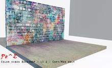 Po^Z - Color vibes Backdrop * copy/Mod only *