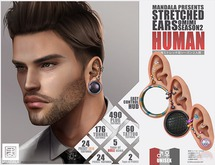 UNISEX [MANDALA]STRETCHED_Ears_Season2 HUMAN