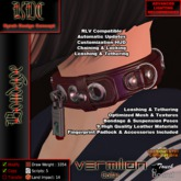 KDC Vermilion Collar
