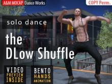 A&M: Dlow Shuffle - solo dance (BENTO hands) :: #TAGS - Hip-hop, rap, urban, street
