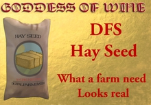 [DFS] Hay Seed * What a farm need * Looks real * Need a DFS Dirt field