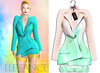 "Elegance Boutique -Jacket - GreenSugar  -  ""Selen"" - Maitreya /Slink / Belleza"
