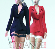 "Elegance Boutique -Jacket - Black - ""Selen"" - Maitreya /Slink / Belleza"