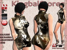 KS OUTFIT SHOSANNA ASIAN DRESS T28