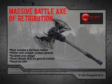 Massive Battle Axe of Retribution