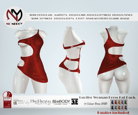 No Mercy - Lucifer Woman Dress  Fat Pack - Maitreya / Slink / Belleza / eBODY / Classic Avatar