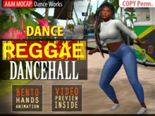 A&M: Reggae DanceHall - solo dance (BENTO hands) :: #TAGS - slow, chill, chillout, relax, ragga, fusion