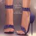 (AMD) Ruffles Heels - Blue (wear to unpack)