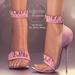 (AMD) Ruffles Heels - Lavender (wear to unpack)