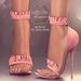 (AMD) Ruffles Heels - Pink (wear to unpack)