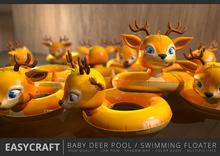 EASYCRAFT - (PRIME) Baby Deer Floater