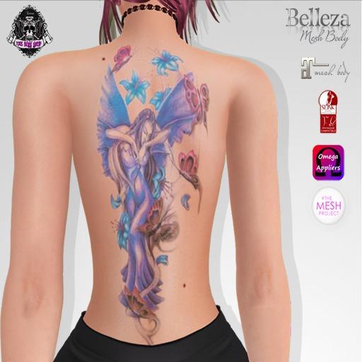 TSB ::: Tattoo the beautiful fairy
