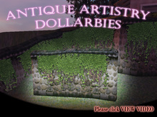 DOLLARBIE ancient ivied wall mesh